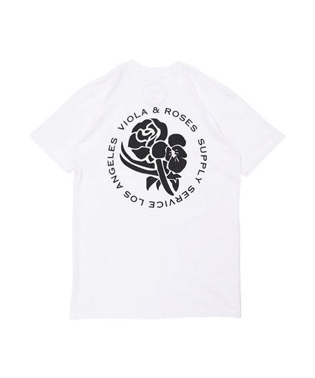 VIOLA&ROSES  CLASSIC No,001 BW  S/S TEE