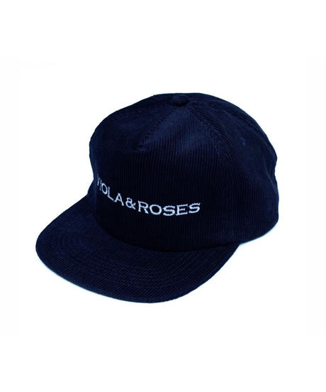 VIOLA&ROSES 100% Poly Corduroy Embroidery Golf Cap