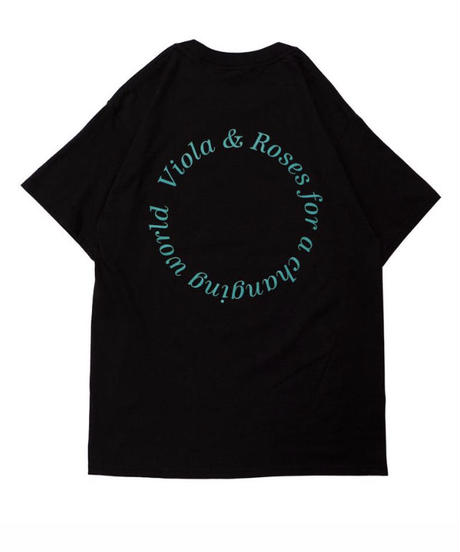 VIOLA&ROSES  FOR A CHANGING WORLD S/S TEE