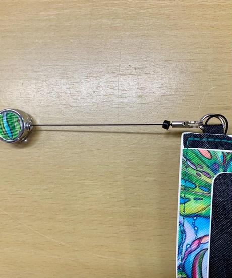 ColleenWilcox コイン入れパスケース N/BLU ハワイアンファクトリー