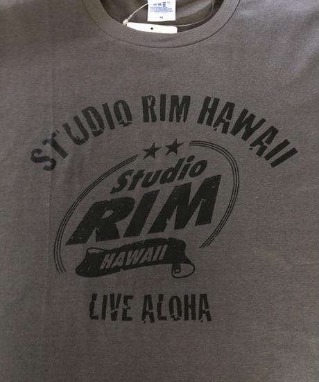 スタジオリムHAWAII ビンテージロゴ Tシャツ