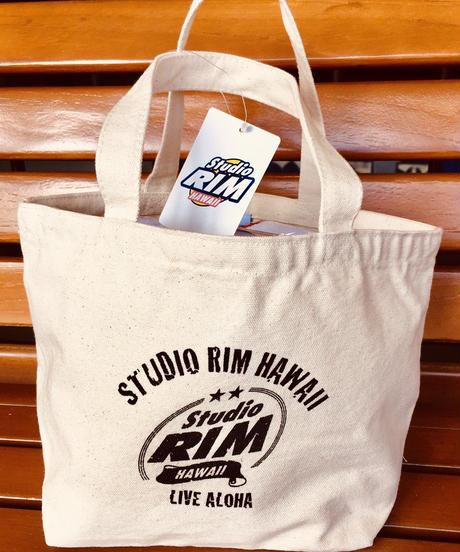 スタジオリムHAWAII ランチトートバック ビンテージロゴ