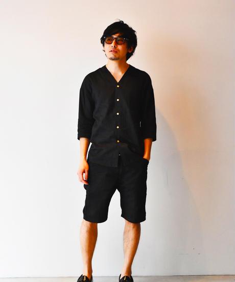 "Koikuchi shirt ""Kaminoge"" (donation rate 30%) / 鯉口シャツ「上野毛」(奉納率30%)"