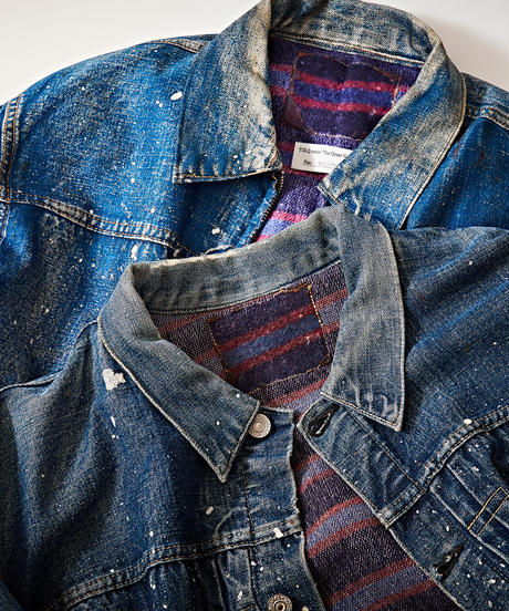 Trompe L'oeil Printed Jacket (1950 Type-1 T-Back)
