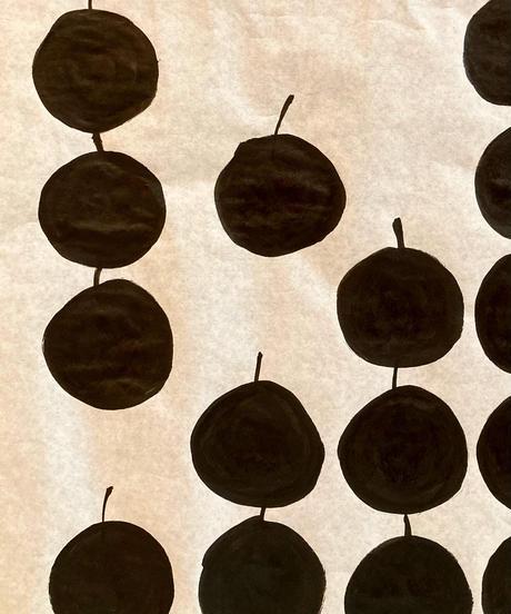 【抽象画】The apple
