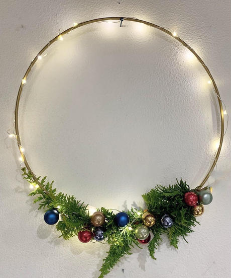 decor metal wreath ring (リースリング)  φ20cm