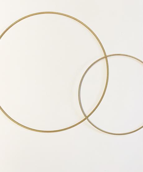 decor metal wreath ring (リースリング)  φ30