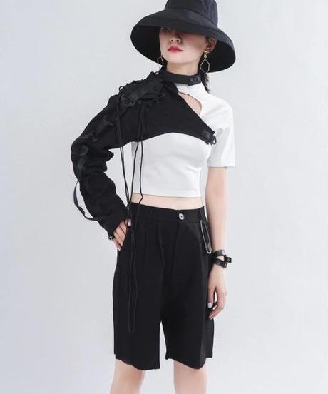 ホロースプリットショートシャツ(TA-035)