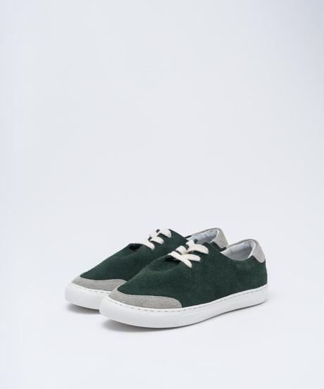 3 -three- / green / レディース/TOU-001L/GRN/BE