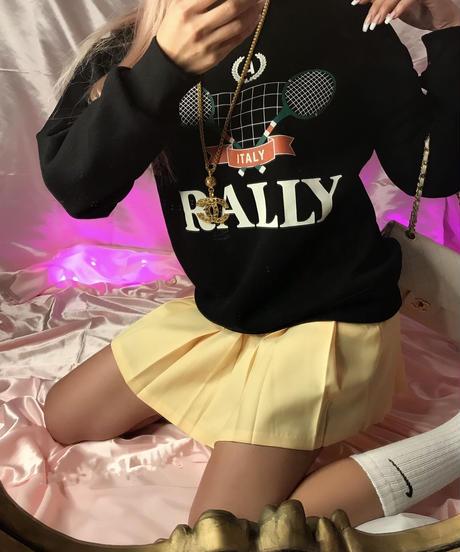 TENNIS GIRL『RALLY』スウェット