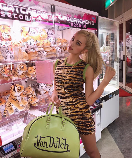 VINTAGE DOLCE&GABBANA tigerスカート