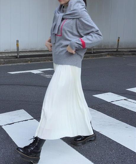 pleats skirt【2194618】