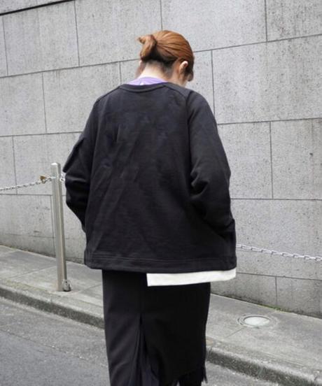 cotton sweat cardigan無地【2211831】