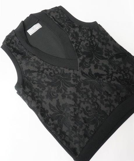 Big V/N vest【2212810】
