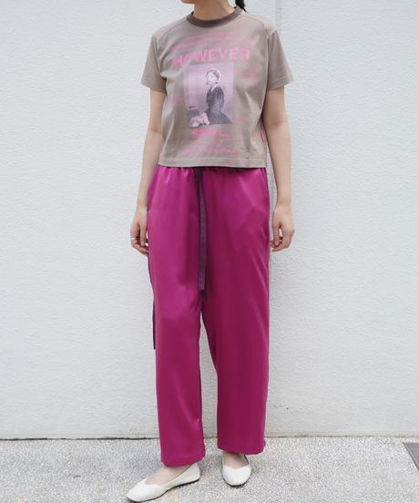 short T-shirth print   【2213853】