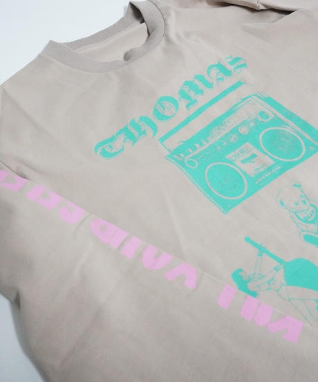 logo long sleeve T-shirt 【2211803】