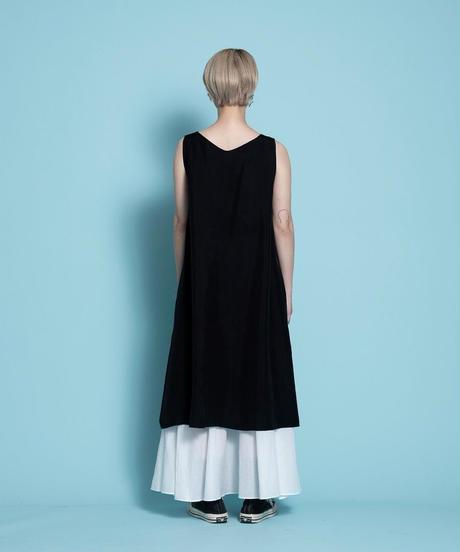 sleeveless one-piece【2212411】
