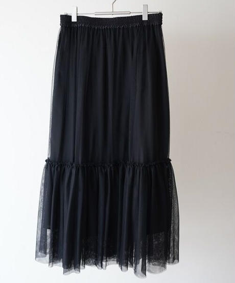 tulle mesh skirt【2204613】