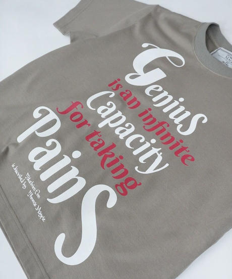 collaboration short T-shirt【2212862】
