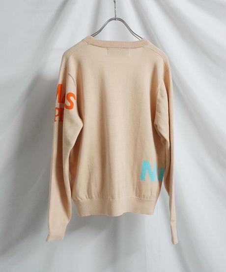 logo cardigan【2211702】