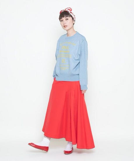 asymmetry skirt【2204610】