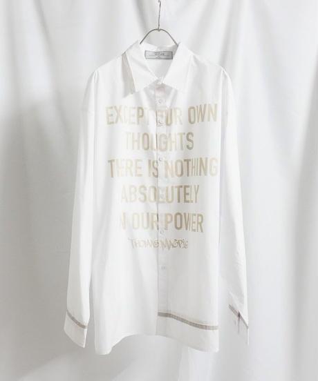 logo shirt 【2211103】