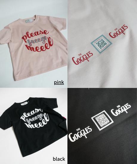 please freeze me short T-shirt【2211852】