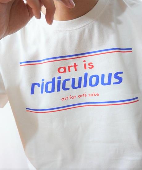 Short T-shirt art is redicurous【2201851】