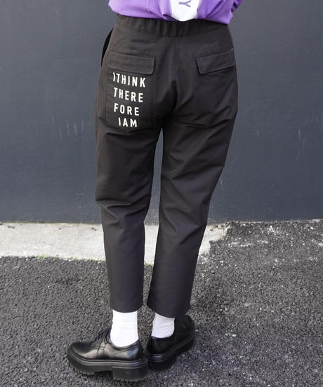 logo tuck pants【2211305】