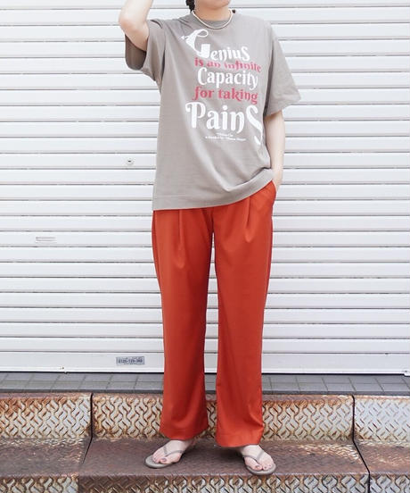 collaboration BIG T-shirt【2212867】
