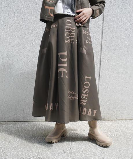 logo skirt【2213601】