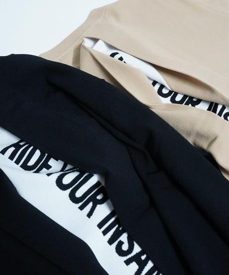 back tuck logo knit【2211703】
