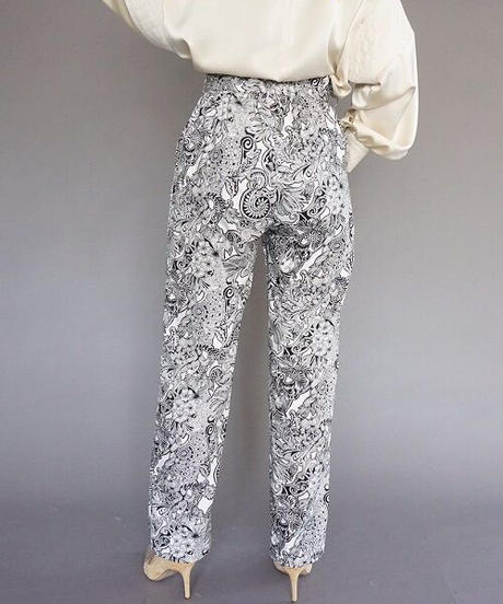 ezntangle print pants【2213304】