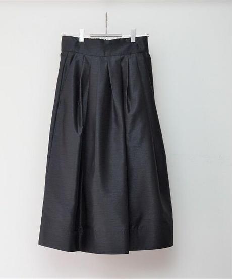 back satin skirt【2203602】