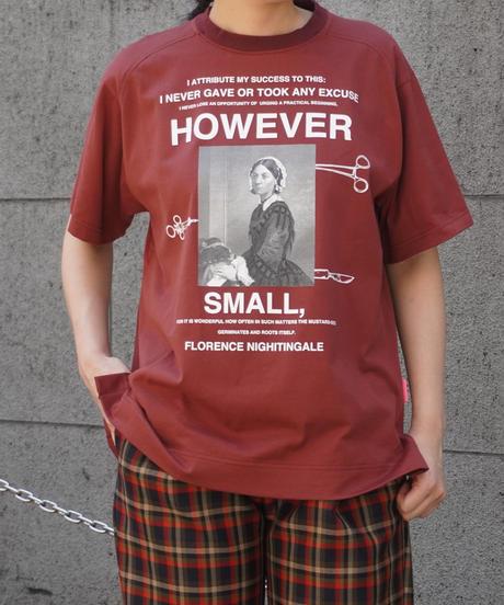 BIG T-shirt print   【2213858】