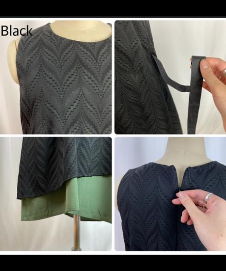 no-sleeve one-piece【2202409】