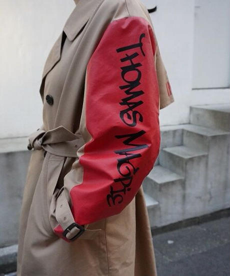 logo trench coat【2211206】