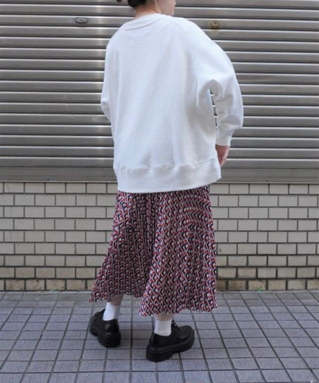 pullover sweat embroidery【2213805】