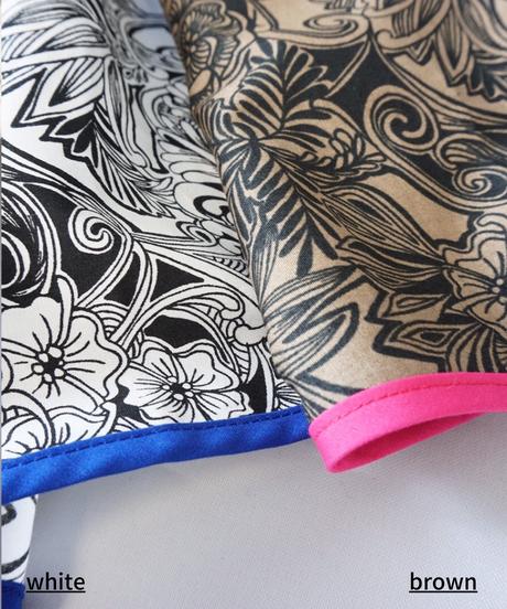 ezntangle print long skirt【2213602】