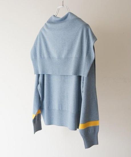 crew & vneck twin knit【2204716】