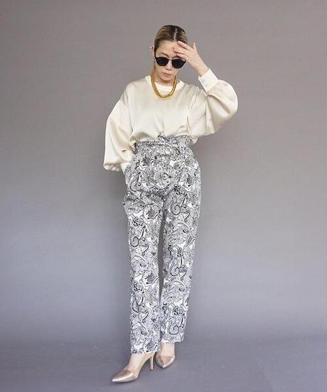 satin blouse【2213102】