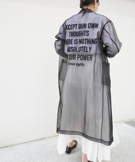 sheer coat【2212208】