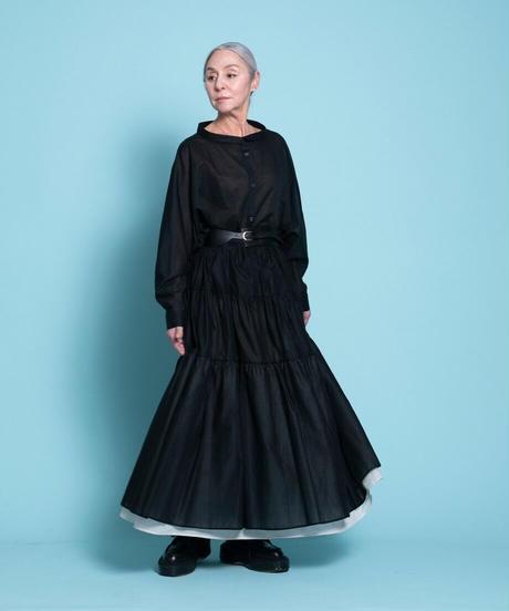 tiered long skirt【2212611】
