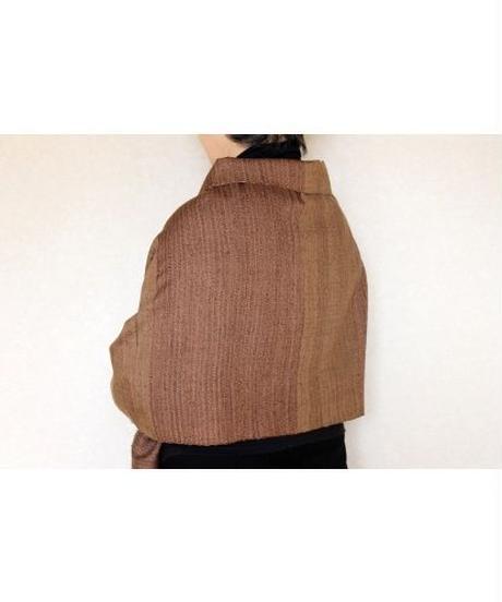紫茶斜子織り(品番:1511-06)