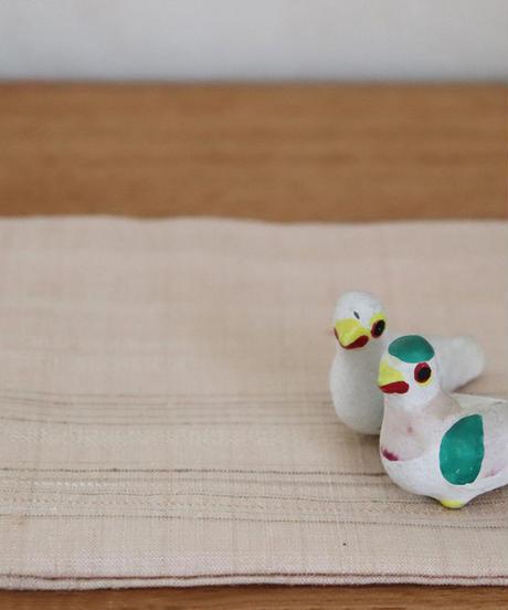 紬織小袱紗 「樹冠月光」
