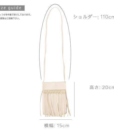フリンジミニバッグ【3-B4729】