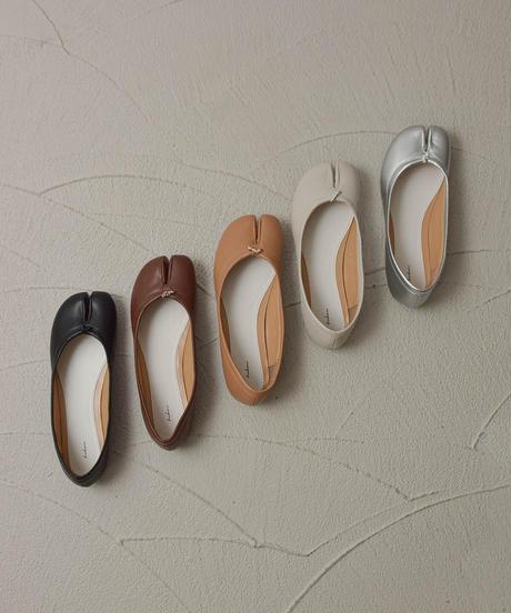 (キャメル) 靴ずれしらずの、足袋シューズ 106-1