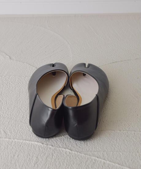 (ブラック) とっても柔らかい 足袋カットパンプス 106-8