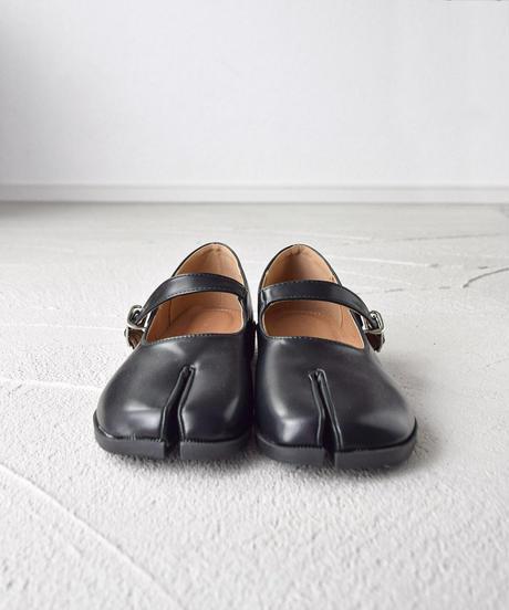 足袋マニッシュパンプス 1-1062-1 ブラック
