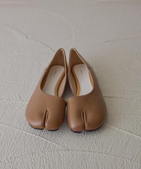 足袋カットパンプス 106-8 ブラウン